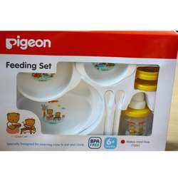 PIGEON Baby Feeding Set | Indonesia Origin
