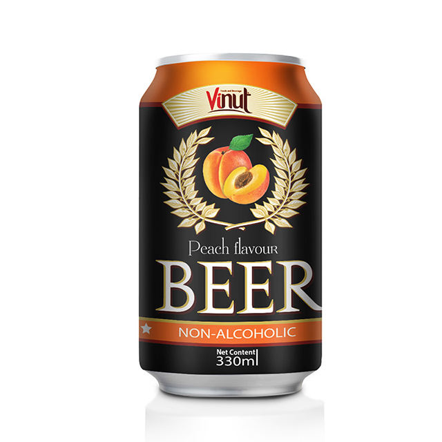 330ml Non-alcoholic beer Peach flavour