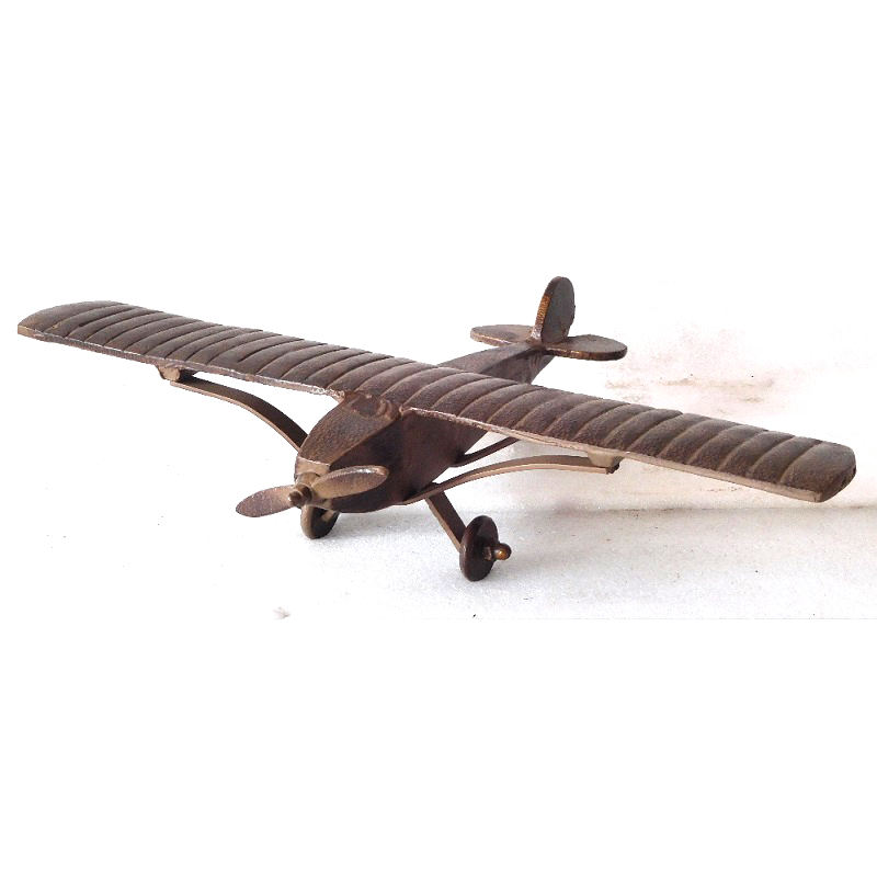 Decorative Heavy Metal Antique Design Die casting Air Plane with long life