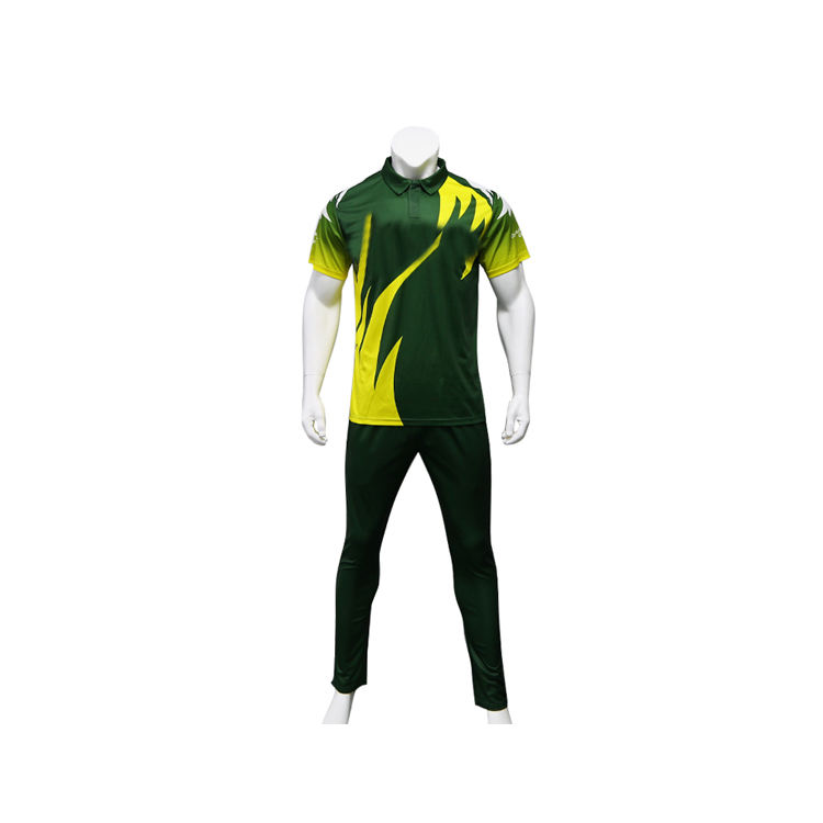 Best selling Sublimation Colorful Cricket Team Uniform