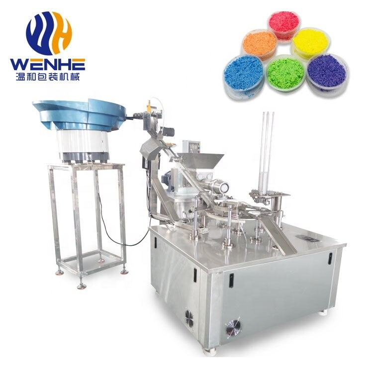 WENHE clay DIY multi-color clay dough plasticine magic clay cup filling packing machine