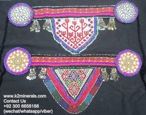 Afghan kuchi banjara fashiob élégant ceinture ex