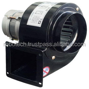 105x50mm Square type Flange Small Centrifugal Blower