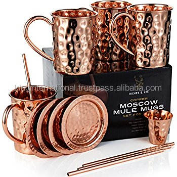 Stainless Steel Mint Julep Cup 12oz Copper Moscow Mule Mug