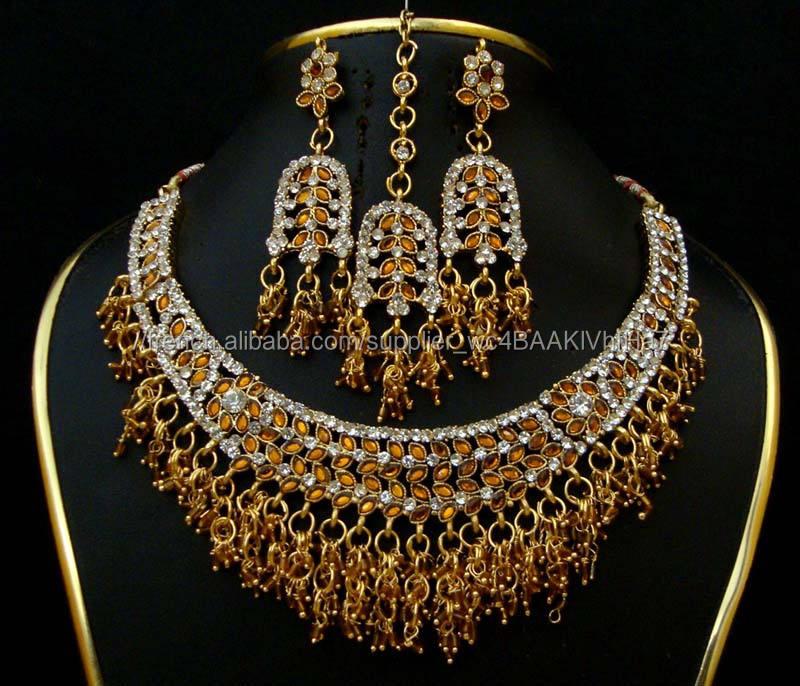 Fabricant de kits de bijoux nuptiaux, ensembles de bijoux de mariage indien exportateur