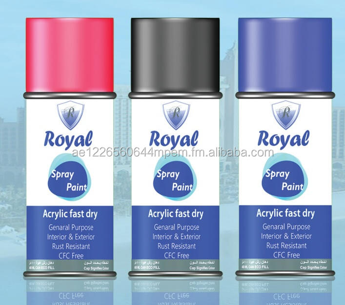 Royal Tinta Spray para fins múltiplos