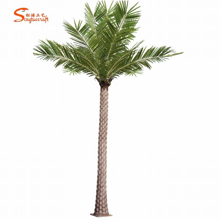 Artificial palm tree plastic palm tree trunks palm tree artificial