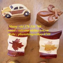 Best Price Wooden Puzzle Box/ Wooden Gift Box from Vietnam _ +842835119589