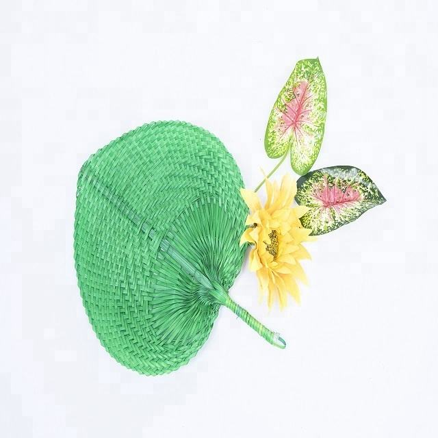 vietnam bamboo palm leaf hand fan cheap price