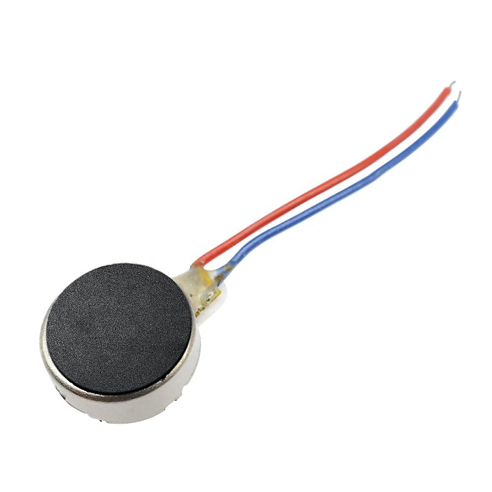 1PCS Coin Flat Vibrating Micro Motor DC 3V 8mm For Pager and Cell Phone Mobile Wholesale
