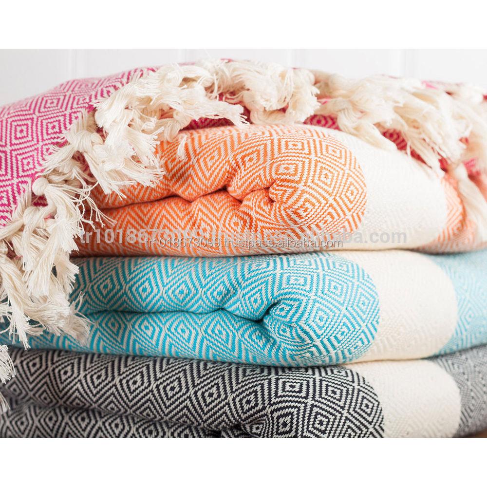 100 Cotton Throw Blanket Sofa Cover