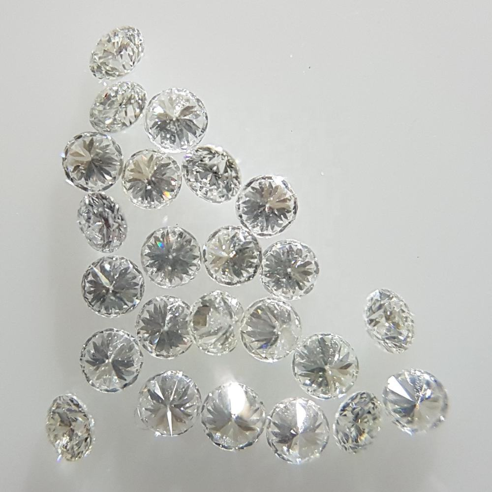 VS Clarity F Color 1.1mm Size Diamond Natural Brilliant Cut Round Diamond for Setting Clean White