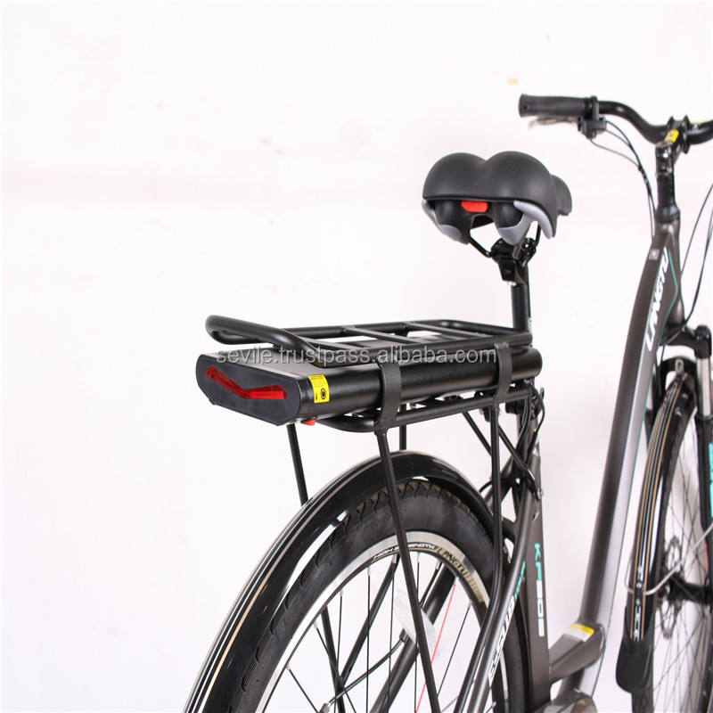 Top Selling Compact City Bicycle, Aluminium Suspension City Bike
