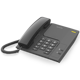 Corded phone Alcatel with all the standard functions Temporis 26 - black, white colors