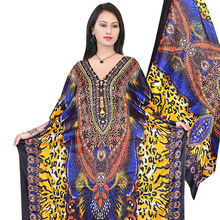Premium Quality Made In India Luxury African Printed Kaftan Dress