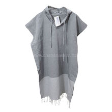 Turkish Pestemal Fouta Hooded Beach Poncho