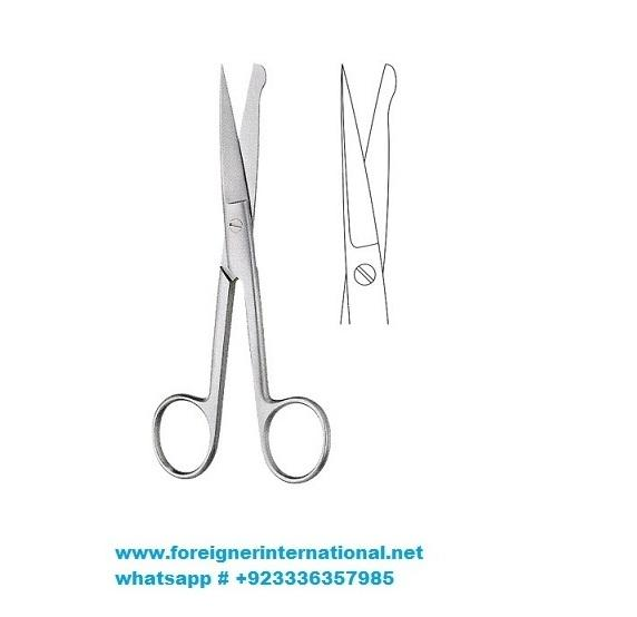 Incision Scissors, Scalpels, Needles