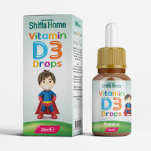 Vitamin D3 Drops Oral Liquid for Kids Children Food Supplements Herbal Vitamin D3 Supplement ...