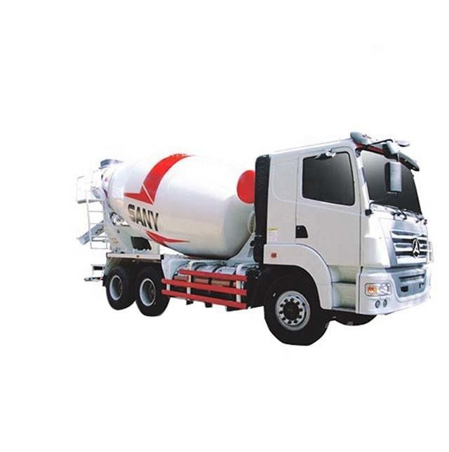 16Ton SANY Brand SY412C-8R Concrete Mixer Truck with Spare Parts