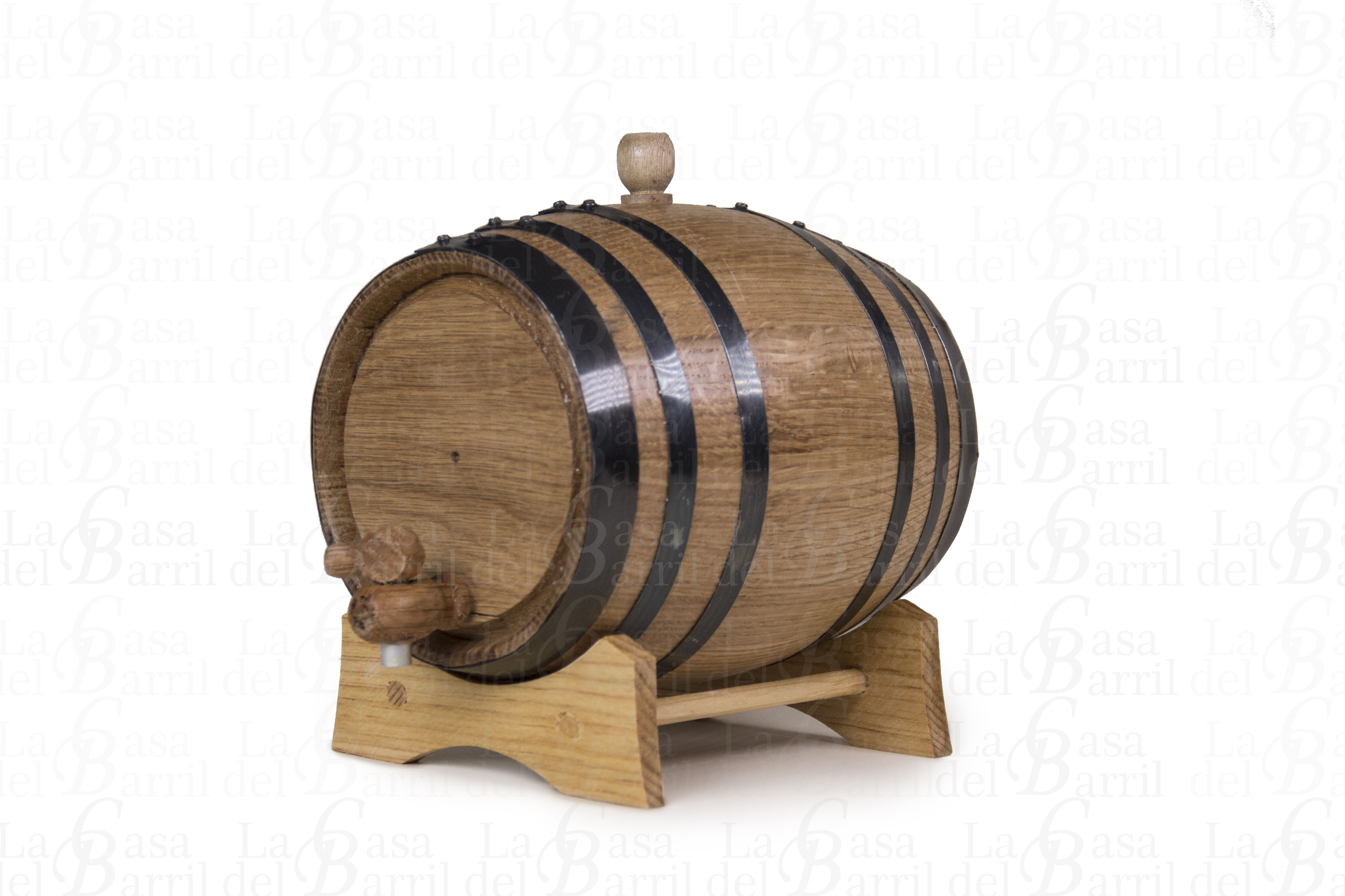 Handmade white oak barrel 2 liter , to age whiskey, tequila, ron, beer, wine