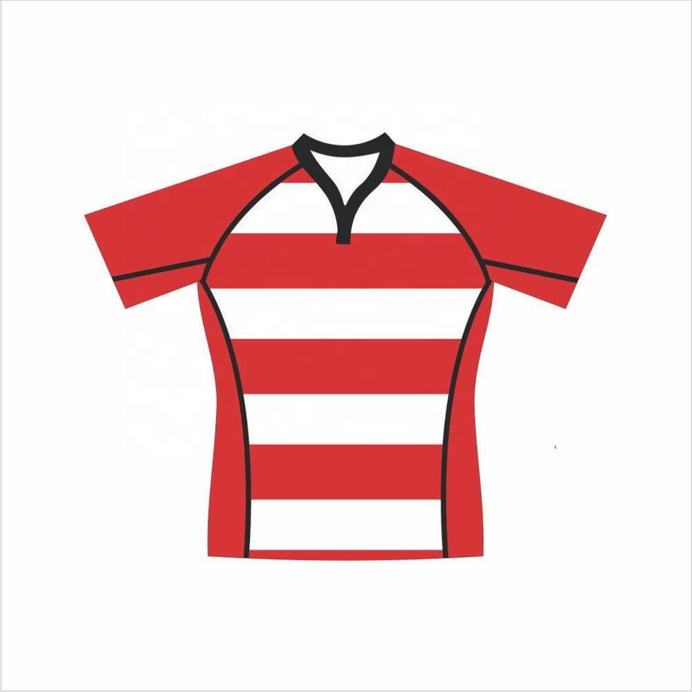 good quality cheap price custom design rugby jersey