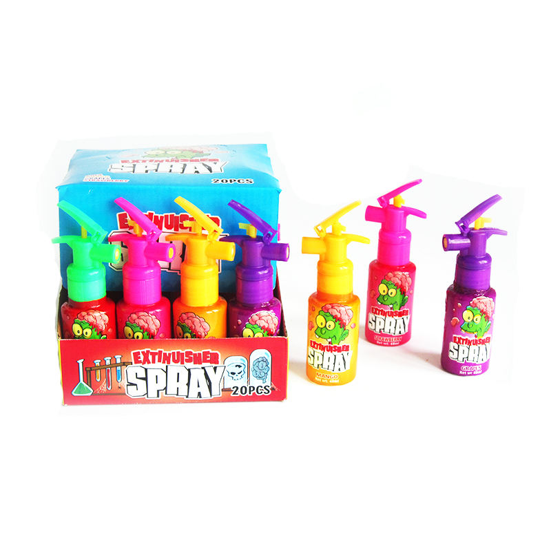 New OEM Factory price 20g fruity syrup spray candy liquid