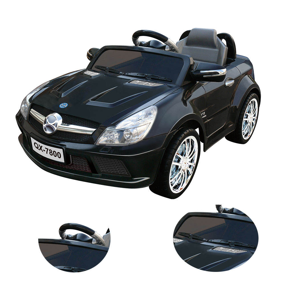Children's Electric Car Four-Wheel Drive Double-Drive Remote Control Car Can Sit Baby