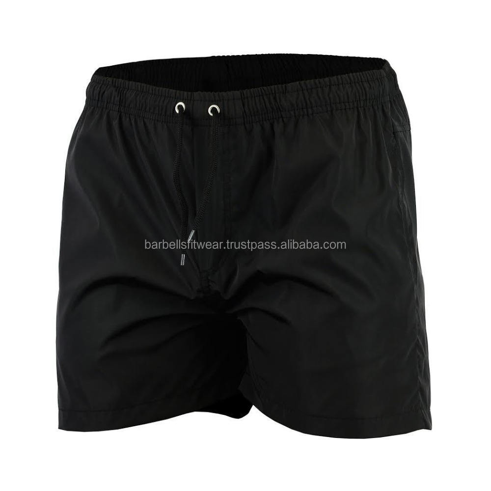 Men 100% Polyester Workout Gym Shorts