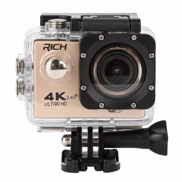 2019 hot product F60R action camera 4k waterproof IP68 mini wifi camera 1080p remote night vision video camera