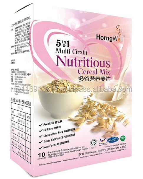 Multigrain Slimming Instant Cereal Oats Breakfast Mix