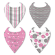 Soft Cotton Baby Bandana Bibs