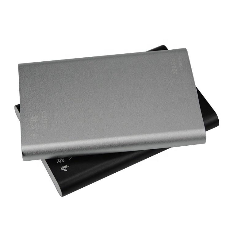 high speed best price Products Aluminum USB3.0 Portable External Hard Drive 2TB hdd 5400RPM portable