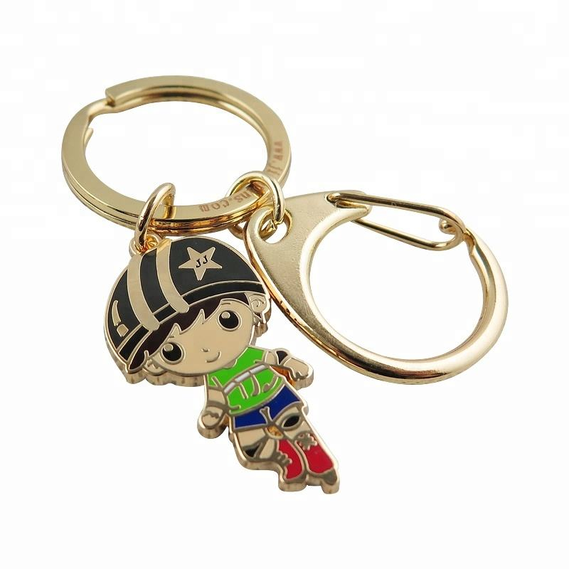 Custom Promotion Keyring Stainless Steel Metal Keychain