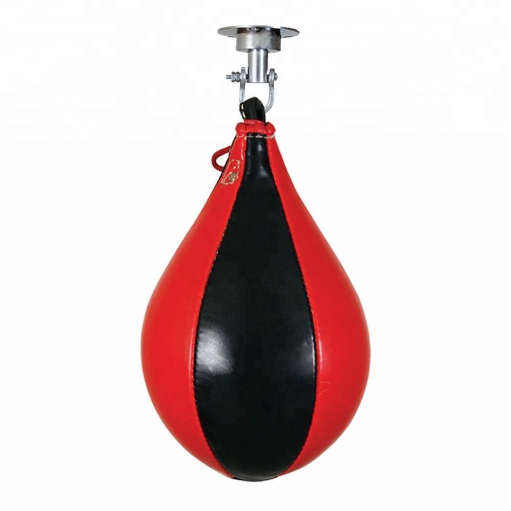 Professional Ceiling Speed Ball / Bag Made From Quality Leather Material Used for MMA & boxing