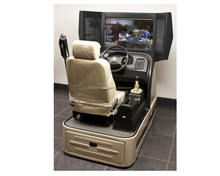 Fully Customizable One or Two Seat Motion Based Car Driver Training Simulator