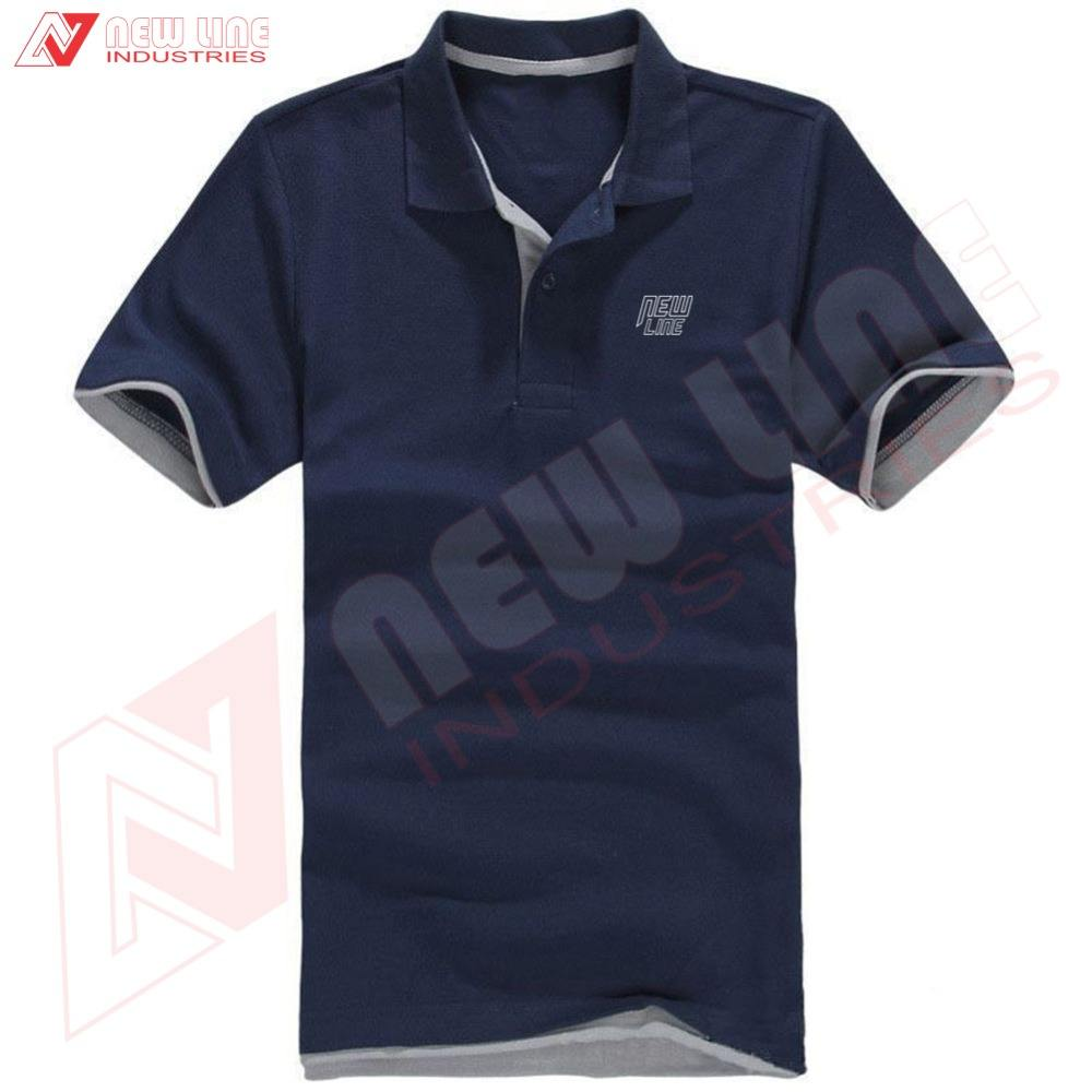 Männer Slim Fit Casual T-shirts Polo Hemd Lange