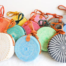 BEST QUALITY PRODUCTS >> WHOLESALE ALOT PACK 21 PIECES OF CIRCLE SLING BAGS MIX COLOR >>FOR FREE SHIPPING