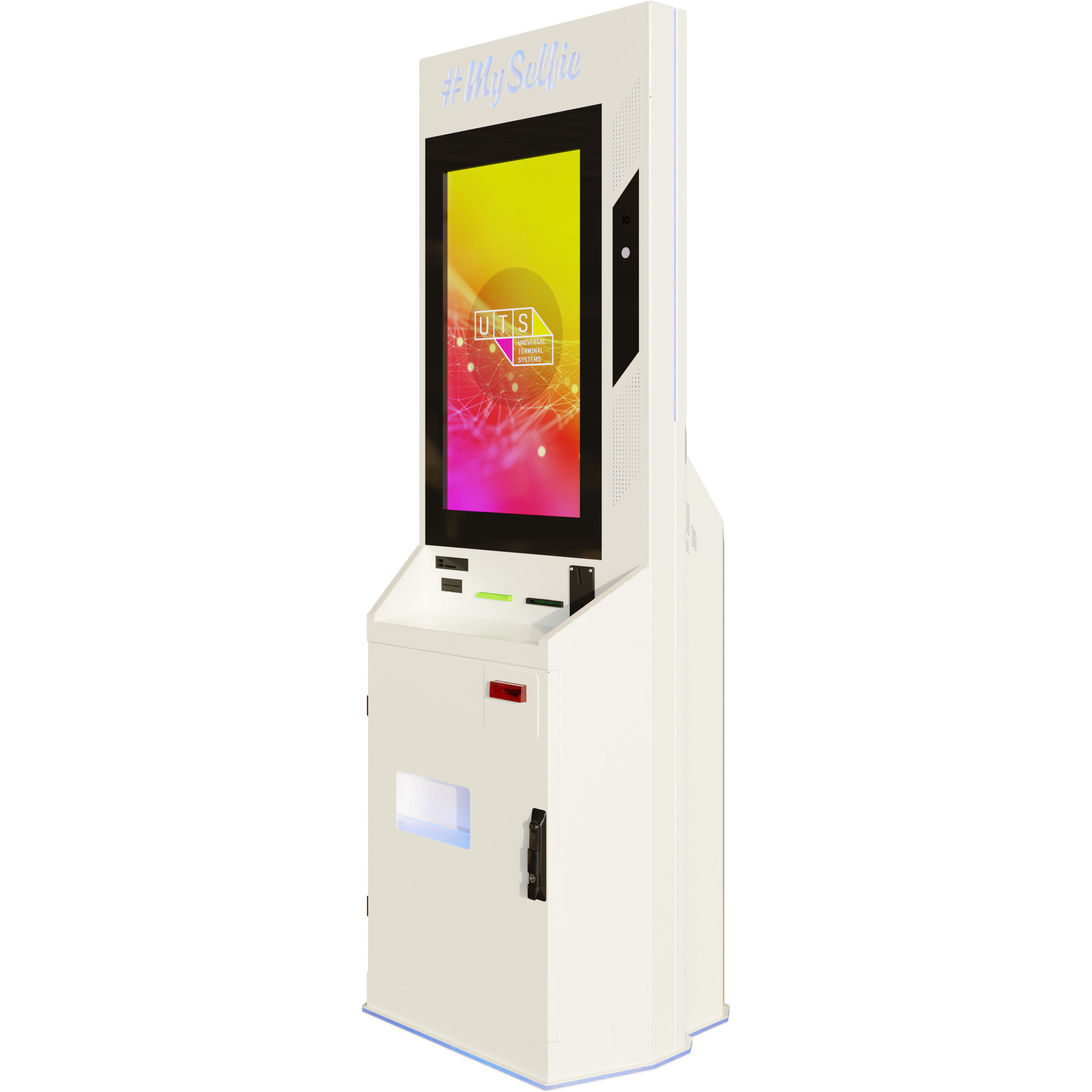 MySelfie touch screen photo booth kiosk machines Selfie station photo booth