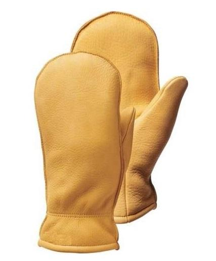 Mens Ski Gloves Fall Line Winter Cold Weather Leather Mittens/子供の革ミトン/レディースレザーミトン