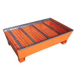 Spill Pallet for 2 Drums with Duckboard Wireline