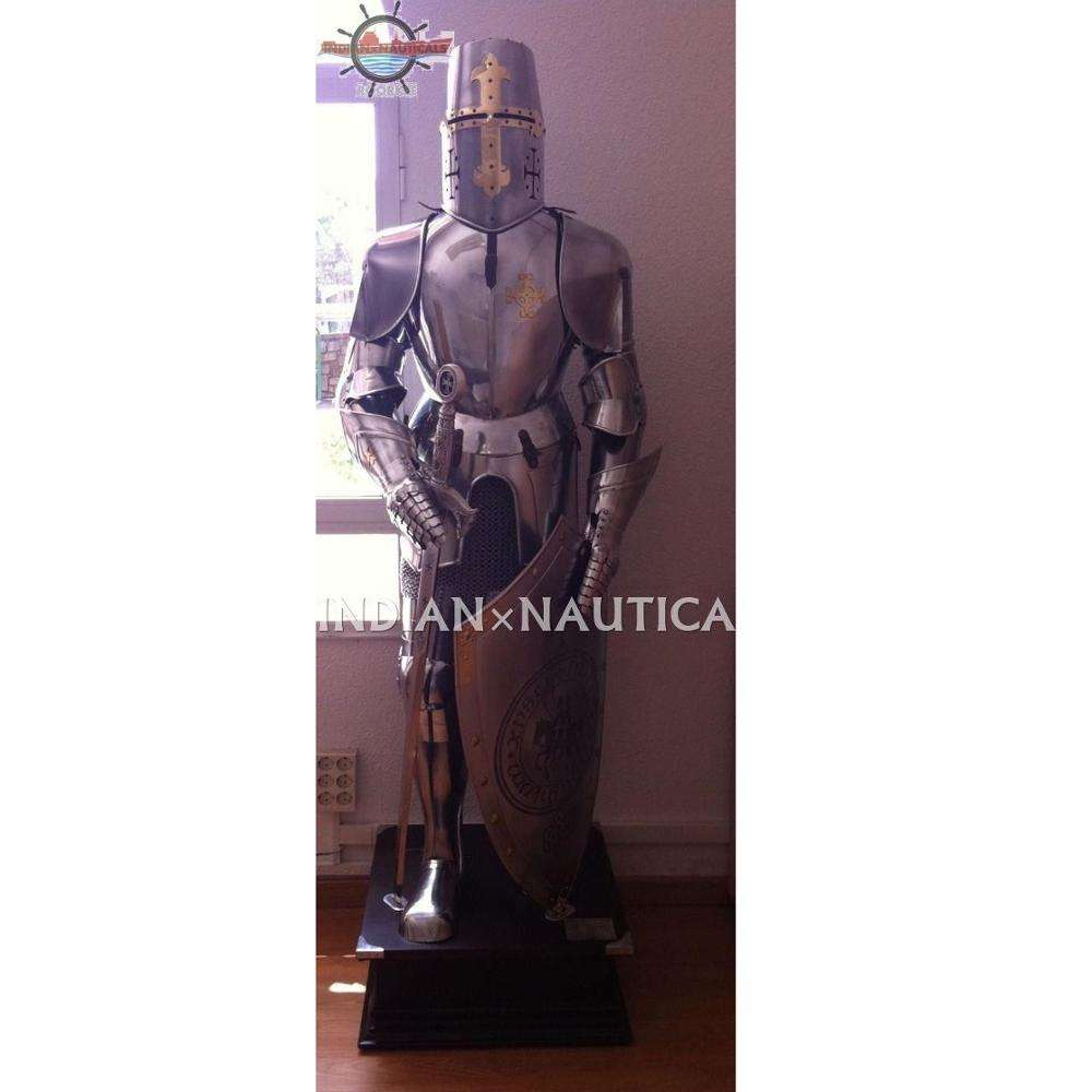 Medieval Knight Crusader ANTI ROTS SUIT