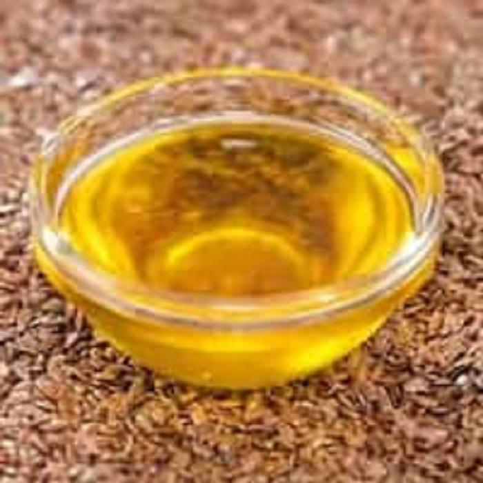 alkali refined linseed oil 100% flax seeds oil