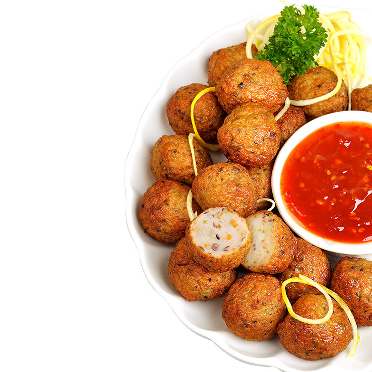 Wholesale DODO Vegetable Fish Ball