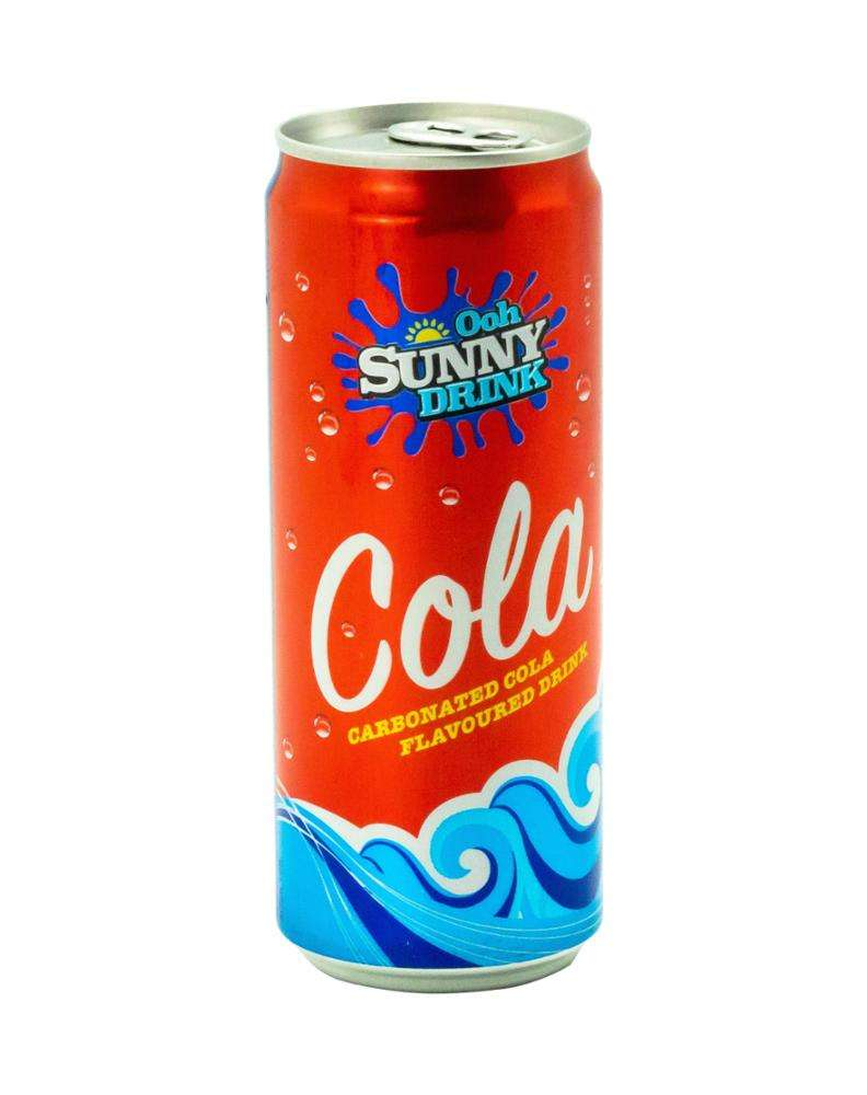 Ooh Sunny high quality carbonated sparkling Soft Drink Cola Flavour
