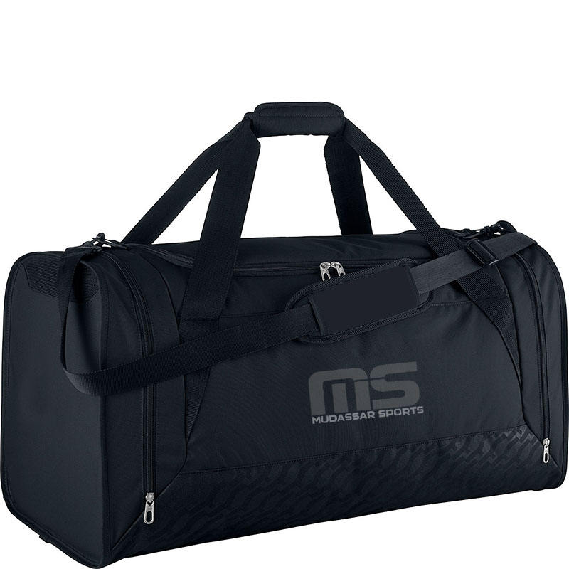 Black Top Trendy Cool Fitness Sports Duffle Sack Kit Gym Bag