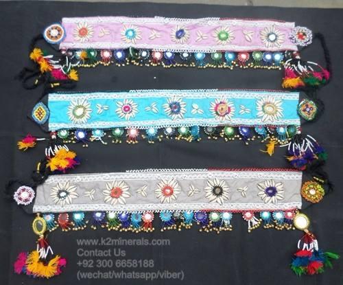 Afghan kuchi bijoux de style de mode ceinture ix