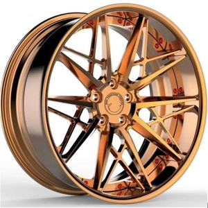 Best performance 2 pcs forged 18 to 22 inch car wheels rims
