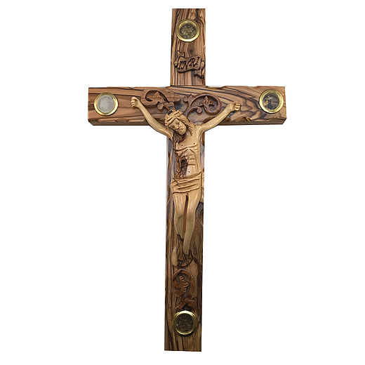 large wall crucifix for sale/olive wood cross