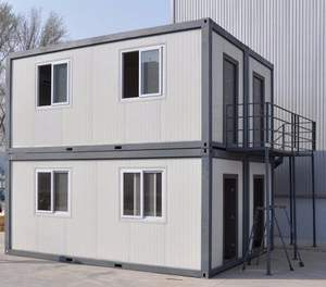 China Easy Assembled Steel Prefabricated Building Prefab Storage Units Ready Made House In India
