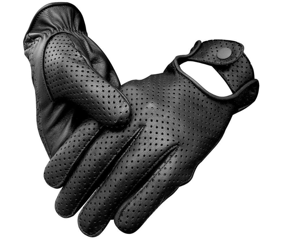 Men/Women Classic Retro style quality Chauffeur Soft Lambskin Leather Driving Gloves